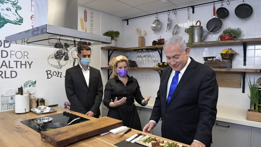 Israel Prime Minister tastes Aleph Farms cultivated steak